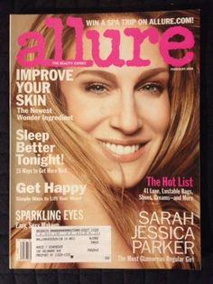 February 2008 cover with Sarah Jessica Parker
