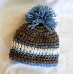 Warm and beautiful baby hat Best ever newborn boy by eveningasters, $27.75