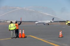 First United Flight Touches Down in #AtlanticCity