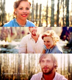 Allie and Noah! god what i would give for a love like this. Nicholas Sparks creates perfect love!