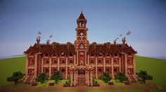 Victorian Town Hall Minecraft World Save