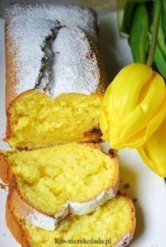 Babka złocista z przepisu od mamy Polish Cookies, Cake Recipes, Dessert Recipes, Sandwich Cake, Loaf Cake, Polish Recipes, Easter Recipes, Food To Make, Food Porn