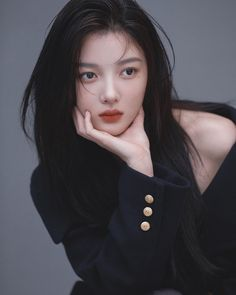 Studio Portrait Photography, Studio Portraits, Female Actresses, Korean Actresses, Kim Yoo Jung Photoshoot, Korean Beauty, Asian Beauty, Kim Yu-jeong, Kim Joo Jung