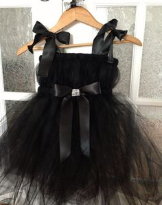 black tutu dress ''tutu darn cute lady tutu by HandyMandyGirl, $50.00
