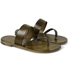 ÁlvaroAlberto Leather Sandals