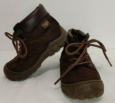 baa095304fd6 Oshkosh Bgosh Kids Boys Boots brown suede Shoes - Size 8M  OshKoshBgosh   Boots Brown