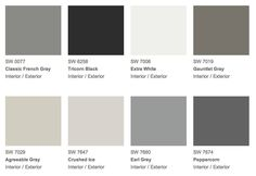 Sherwin Williams 2014 Color Forecast: Make your cabinets pop by sprucing up your walls with a fresh coat of paint.