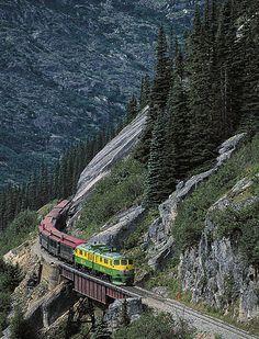 White P And Yukon Railway From Skagway Alaska To Carmacks Yt Canada