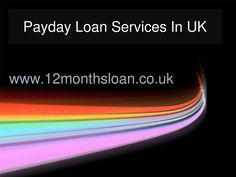 payday loan lenders uk
