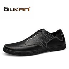 f5e1589d992cfa DILIKAN Spring Top Quality Men Casual Shoes Classical Designer Walking  Breathable Board Shoes Men Lace Up Comfort Shoes Big Size-in Men's Casual  Shoes from ...
