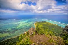 Views from Le Morne Brabant