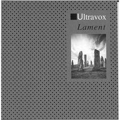 Ultravox - Lament  Designed by Peter Saville