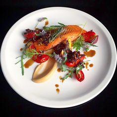 New Zealand salmon.