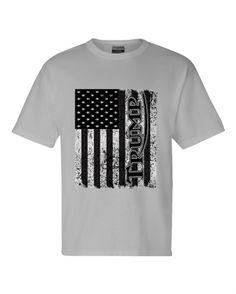 9ffe5476c0bd Tshirt - Trump on Flag w/ FREE BUMPER STICKER