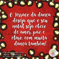 O Terraço da Dança deseja um feliz natal a todos! #TerradoDaDanca #Dance #DancaDeSalao