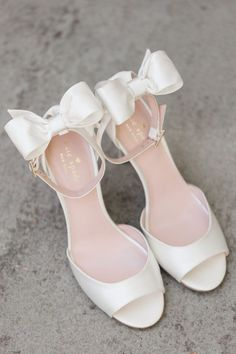 Wedding Jewelry Wedding shoes - Alicia Lacey Photography - Every detail of this Kate Spade Inspired Wedding was perfectly coordinated to reflect the theme. Catch all the black and white stripes and the pink accents Me Too Shoes, Women's Shoes, Fancy Shoes, Buy Shoes, Bridal Skirts, Wedding Heels, Kate Spade Wedding Shoes, Bridal Heels, Wedding Bride