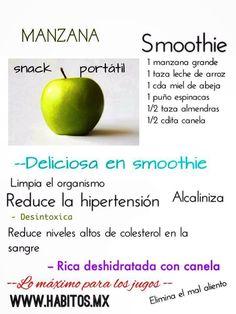 Smothie de manzana