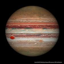 Gas giant Jupiter is the solar system's largest world with about 320 times the mass of planet Earth. Jupiter is home to one of the largest and longest lasting storm systems known, the Great Red Spot,. Cosmos, Hubble Space Telescope, Space And Astronomy, Astronomy Science, Jupiter Planeta, Great Red Spot, Astronomy Pictures, Nasa Space Pictures, Outer Space