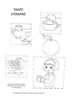 Filastrocca Dellarancia Schede Montessori Crafts For Kids E