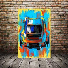 Excited to share this item from my #etsy shop: Porsche Carrera 911, Porsche art print, Porsche artwork, Car enthusiast art, race car art, man cave garage decor, husband gift ideas, auto