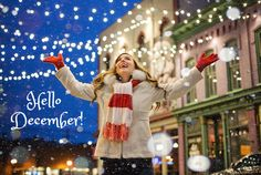 D.E.C.E.M.B.E.R! <3 The most beautiful month of the year is here! It's the season to be happy, May this be a magical month for you.😍 Make it one to remember. #hellodecember