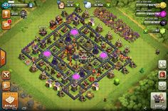 Clash Of Clans Town Hall 9 Trophy Layout Top 10 clash of clans town . Clash Of Clans Levels, Clash Of Clans Cheat, Clash Of Clans Game, Clash Clans, Clash Of Clans Website, Clash Of Clash, Clash Of Clans Account, Trophy Base, Clan Games
