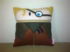 Handmade Harry Potter Mad-Eye Moody Pillow