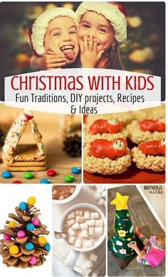 Christmas With Kids! Hundreds of fun ideas! Crafts, recipes, fun traditions and more!
