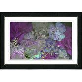 "Found it at Wayfair - ""Purple Scented Bloom"" by Zhee Singer Framed Fine Art Giclee Painting Print"