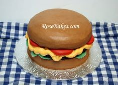 How to Make a Cheeseburger Cake + Durable Butter Cake Recipe
