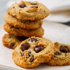 Almond Flour Dark Chocolate Chip Cookies Add peanut butter and use cacao nibs instead of chocolate chips.