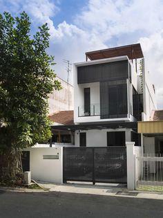 Công trình Airwell House | ADX Architects Ngôi nhà nằm trong một dãy nhà liền kề…