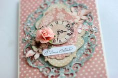 Wedding Card, by Elena Olinevich, Ladies Diary, Product by Graphic 45, Photo1 Shots Ideas, Great Albums, Get Excited, Graphic 45, Wedding Season, Wedding Cards, Paper Crafts, Seasons, Handmade