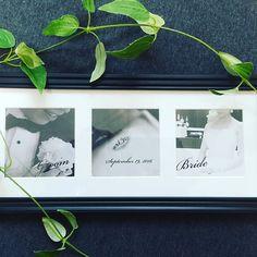 お友達のウェディングシリーズ👭✨ 2人の前撮り写真を使って作ってみました🌿 モノクロにするとなんでもおしゃれに見えるシリーズです✨笑  #ウェルカムスペース #welcomespace  #photo #モノクロ #wedding#party #diy #大人ナチュラルウェディング #結婚式