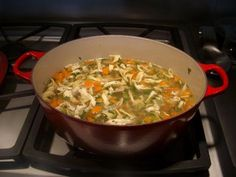 Barefoot Contessa's Chicken Noodle  Soup