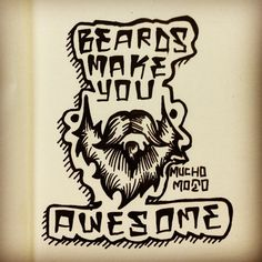Beard Love!  #beards #beard #doodle