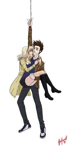 Peter And Gwen by Hootsweet.deviantart.com on @deviantART