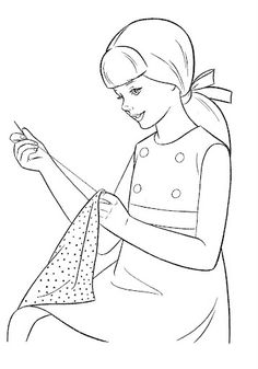 Coloring Book~Timey Tell - Bonnie Jones - Picasa Web Albums Free Kids Coloring Pages, Barbie Coloring Pages, Coloring Book Pages, Coloring Pages For Kids, Adult Coloring, Drawing Competition, Vintage Coloring Books, Cool Paper Crafts, Printable Crafts