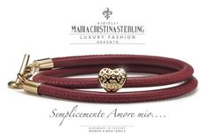 Gioielli San Valentino luveyou bracciali Argento Maria Cristina Sterling