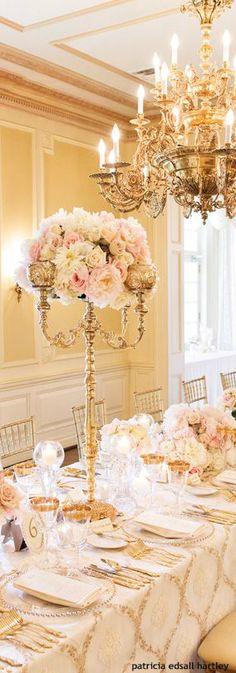 Wedding | Tablescapes | Rosamaria G Frangini ||  Wedding Decor | House of Beccaria~