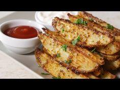 Φανταστικές πατάτες στον φούρνο σαν τηγανητές - Country Potatoes (Roasted Potatoes) - YouTube Deep Fried French Fries, Oven Baked French Fries, Le Diner, Finger Foods, Side Dishes, French Toast, Pork, Potatoes, Tasty