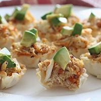 Crab and Avocado Phyllo Bites by Skinny Taste