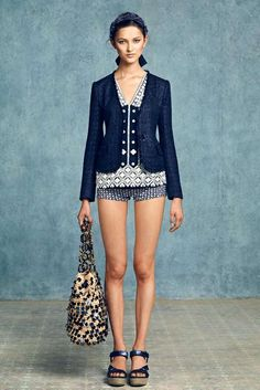 Tory Birch Resort 2013 Collection. LOOK even models have screwy knees!!!!!