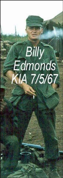 Virtual Vietnam Veterans Wall of Faces | WILLIAM O EDMONDS | MARINE CORPS