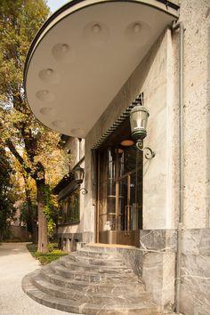 Villa Necchi, Joe Colombo, Art Deco Buildings, Entrance, Exterior, Architecture, Beautiful, Design, Masters