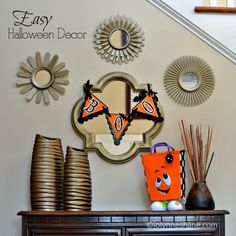 These are fun! Decorating Our Haunt for Halloween: Easy and Fun Halloween Decorating Ideas for your Halloween Decor! #ad #lifeisaspecialoccasion