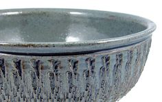 7 Cup Blue Serving Bowl / Handmade Stoneware by PatsPottery,