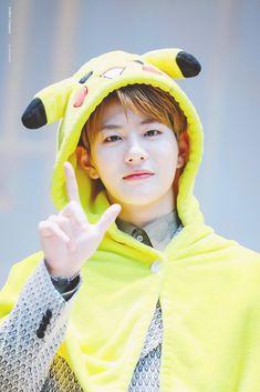 Golden Child Pikachu Bomin Cute Funny Boy, Woollim Entertainment, Golden Child, Kihyun, Asian Boys, K Idols, Pop Group, Beautiful People, Fandom