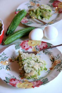 Torta di zucchine e filetti di sgombro