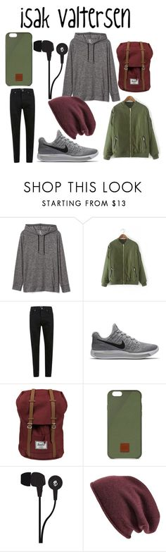 """isak valtersen/skam"" by thedeernicole on Polyvore featuring Gap, NIKE, Herschel Supply Co., Native Union, Skullcandy, Halogen, men's fashion e menswear"